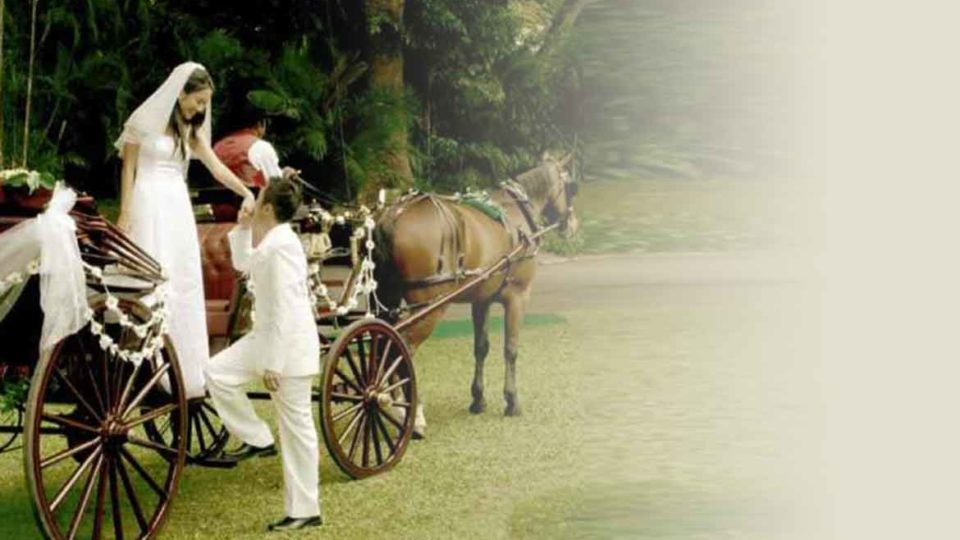 Sadly, love and marriage go together like horse and carriage